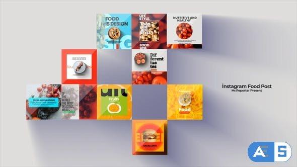 Videohive Instagram Post Food 0.1 31531762