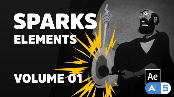 Videohive Sparks Elements Volume 01 [Ae] 31063052