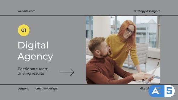 Videohive Digital Agency Marketing Promo 31801698