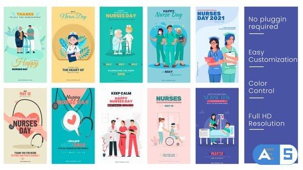 Videohive Nurses Day Instagram Stories B50 31803093