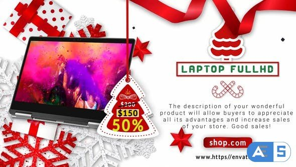 Videohive Merry Christmas Sale B47 31783384