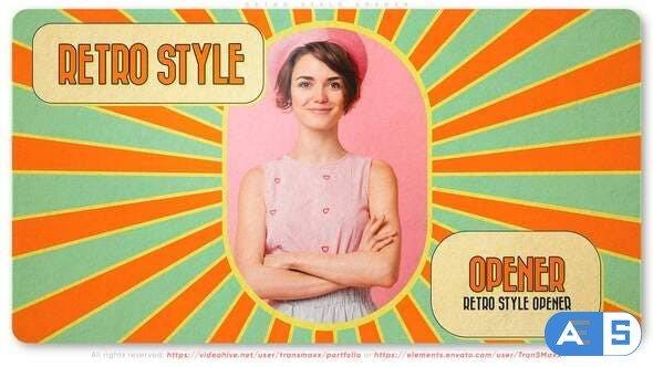 Videohive Retro Style Opener 31776093