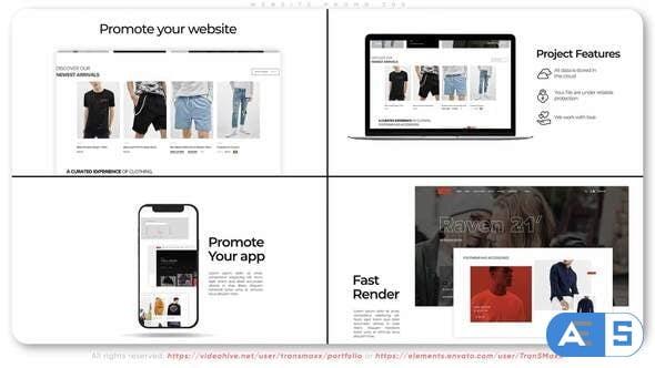 Videohive Website Promo. Z03 31775549