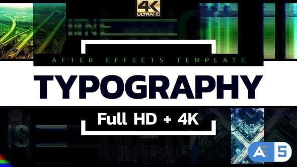 Videohive Typography 19498450