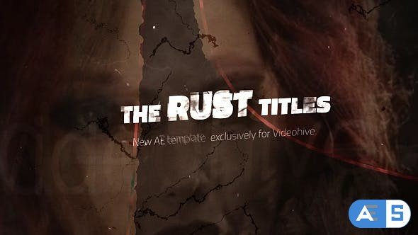 Videohive Rust Titles 18219625
