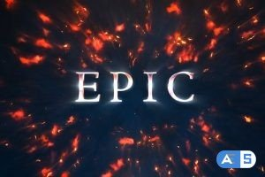 Videohive Epic Titles: Explosion 4K 18040487