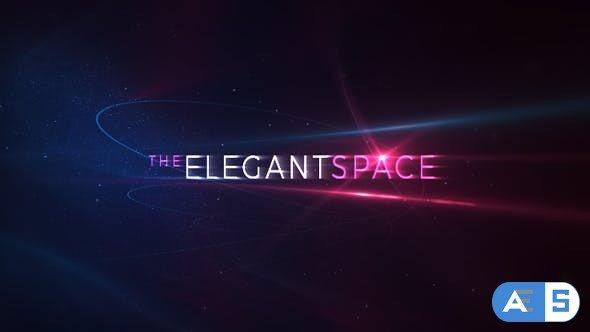 Videohive Elegant Space Titles 20514183