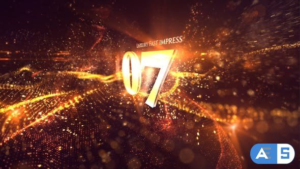 Videohive Gold Luxury Countdown 22050278