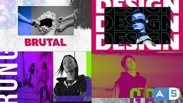Videohive – Grunge Color Opener – 30495914