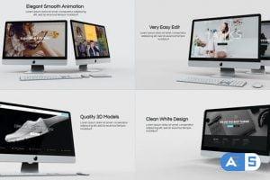 Videohive White Room | Website Presentation 29117716