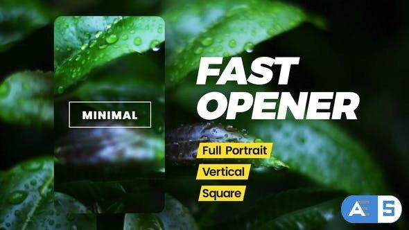 Videohive Instagram Fast Opener 30950884