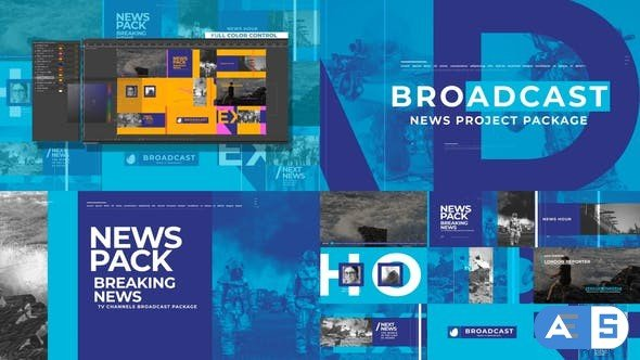 Videohive News Broadcast Pack 26021886