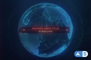 Videohive Earth Abstract Titles 31679892