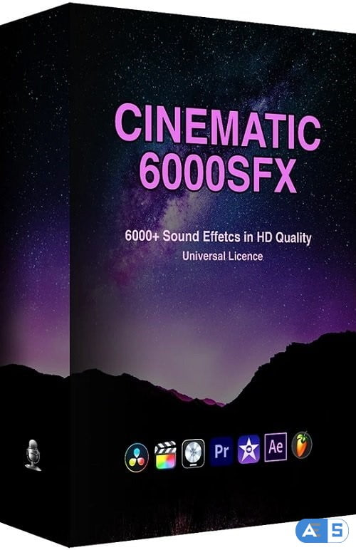 ProfessionalSongs 6000+ Cinematic SFX Ultimate Bundle Pack WAV