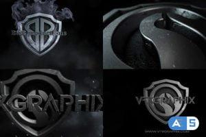 Videohive Dark Shield Logo 30898634