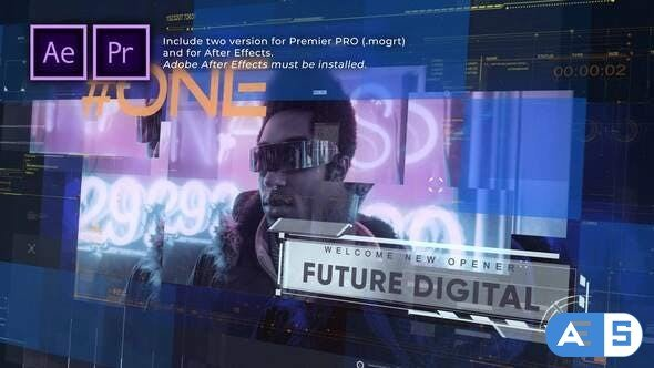 Videohive Future Digital Opener Presentation 31659864