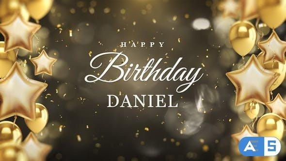Videohive Happy Birthday Party Intro 30131981