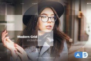Videohive Modern Grid Slideshow 29796409