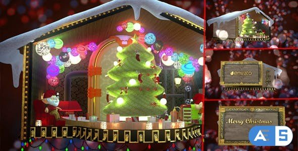 Videohive Christmas Celebration 13985755
