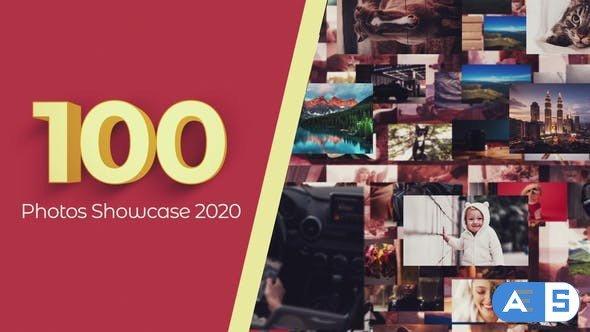 Videohive 100 Photos Showcase Intro 29886638