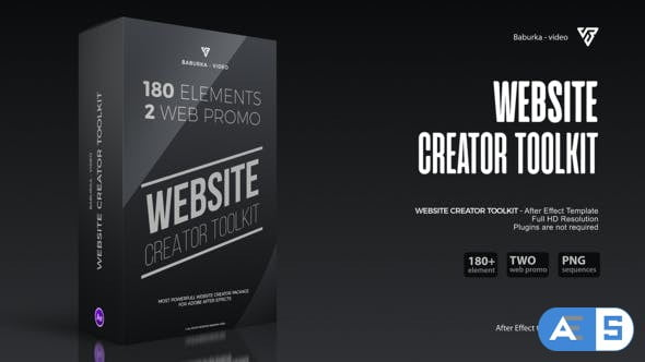 Videohive Website Creator Toolkit 31284869