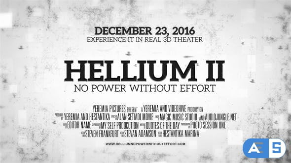 Videohive Helium – Cinematic Trailer 17182297