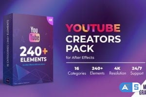 Videohive Youtube Creators Pack 31232789