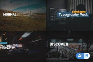 Videohive FCPX Animated Typography Titles 19741597