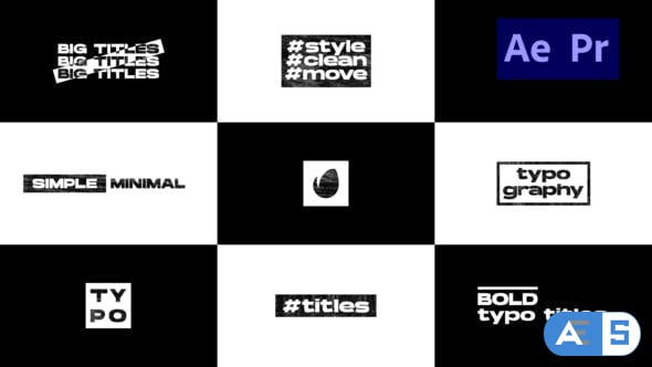 Videohive Big Typo Titles 31859091