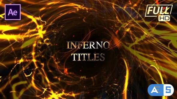 Videohive Inferno Ember Fire Titles 24803041