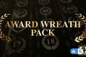 Videohive Award Wreath Pack 4K 25629713