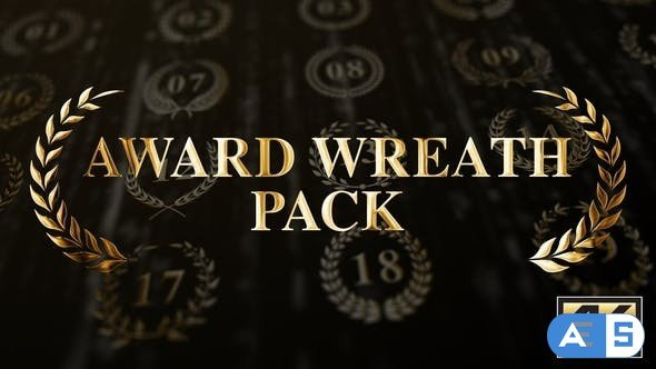 Videohive Award Wreath Pack 4K 25629713