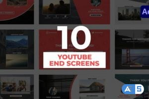 Videohive YouTube End Screens 31847986
