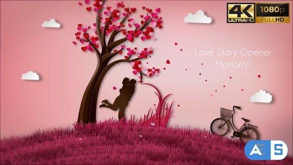 Videohive Love Story Opener 31847399
