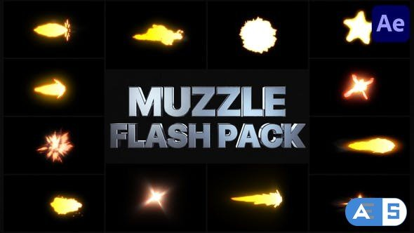 Videohive Muzzle Flash Pack 03 | After Effects 31835571
