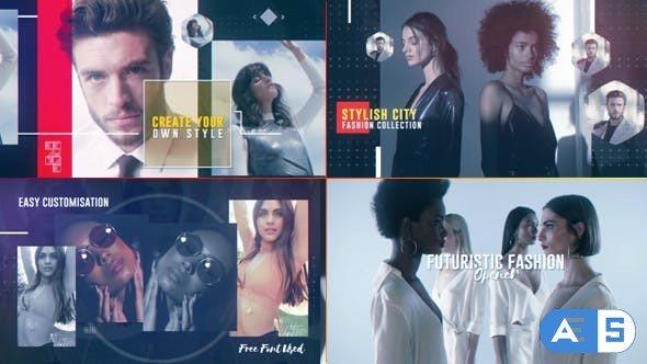Videohive Futuristic Fashion Opener 21071162