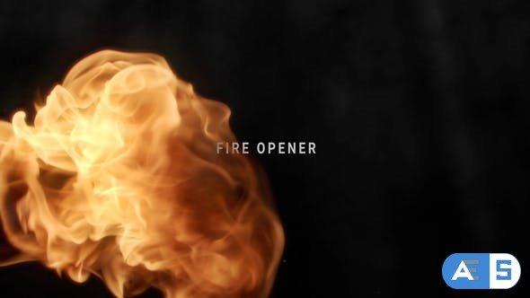 Videohive Fire Opener 31833848
