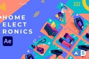 Videohive Home Electronics Product Promo | After Effects 31830521