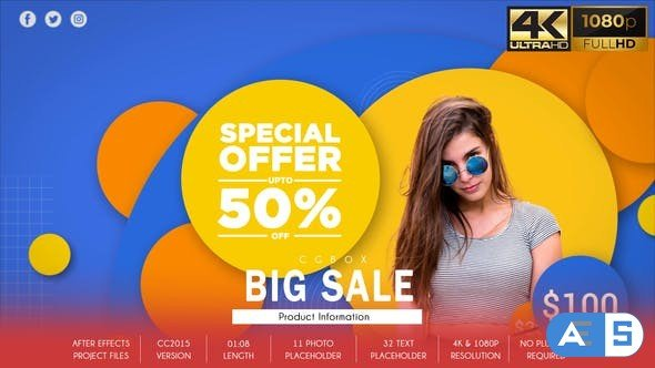 Videohive Product Promo – Big Sale 31830324