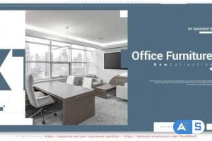 Videohive Office Furniture Promo 31849237