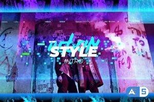 Videohive – Cyberpunk Intro – 31849589