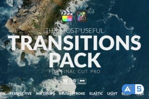 Videohive The Most Useful Transitions Pack For FCPX 31318144
