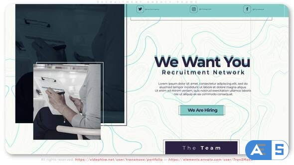Videohive Recruitment Agency Promo 32074544