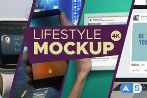 Videohive Lifestyle MockUp 10-Pack 19514972