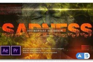 Videohive – Sad Documentary Story Slideshow – 32063860