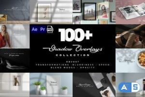 Videohive Realistic Shadow Overlays Collection 32076650