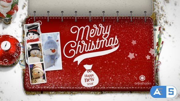 Videohive Christmas Booklet 22905315