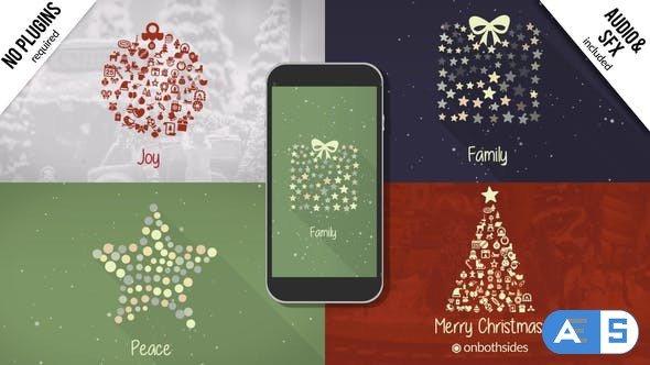 Videohive Christmas Symbols 22861079