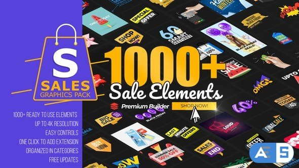Videohive – Sales Graphics Pack – 31601466
