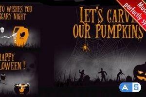 Videohive Halloween Carrousel 17969273